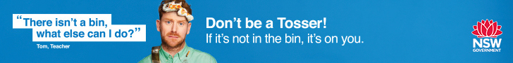 Don't be a tosser! If it's not in the bin, it's on you