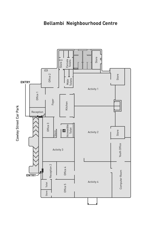 Bellambi Neighbourhood Centre Floorplans